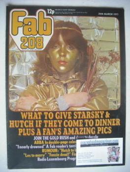 Fabulous 208 magazine (26 March 1977 - Leslie Ash cover)