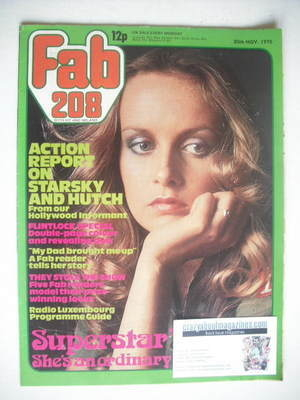 <!--1976-11-20-->Fabulous 208 magazine (20 November 1976 - Twiggy cover)