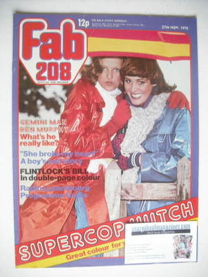 <!--1976-11-27-->Fabulous 208 magazine (27 November 1976)