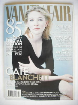 Vanity Fair magazine - Cate Blanchett cover (March 1999)