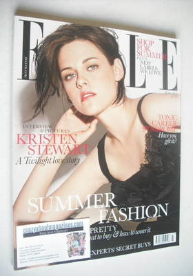 <!--2010-07-->British Elle magazine - July 2010 - Kristen Stewart cover