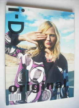 i-D magazine - Sasha Pivovarova cover (July 2008)