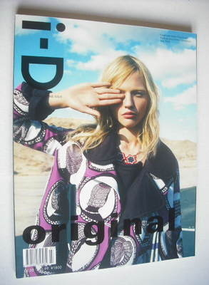 <!--2008-07-->i-D magazine - Sasha Pivovarova cover (July 2008)