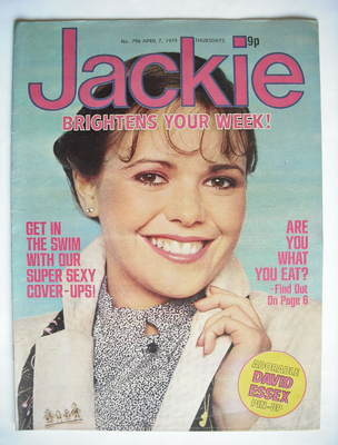 <!--1979-04-07-->Jackie magazine - 7 April 1979 (Issue 796)