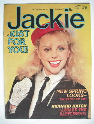 <!--1979-04-28-->Jackie magazine - 28 April 1979 (Issue 799 - Debbie Ash co