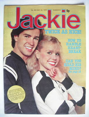 <!--1979-05-26-->Jackie magazine - 26 May 1979 (Issue 803 - Debbie Ash cove