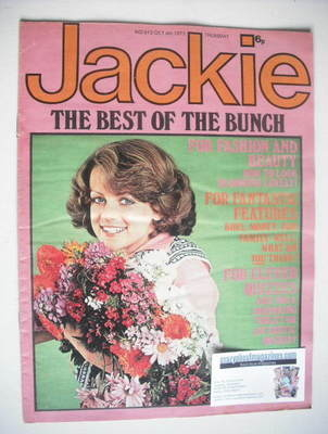 <!--1975-10-04-->Jackie magazine - 4 October 1975 (Issue 613)