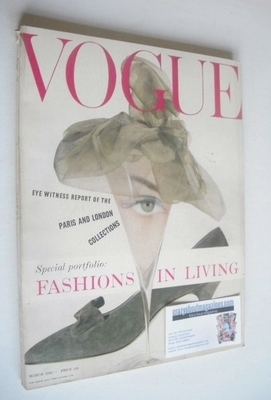 <!--1958-03-->British Vogue magazine - March 1958 (Vintage Issue)