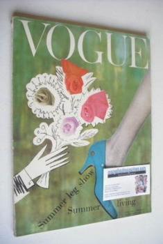 British Vogue magazine - June 1958 (Vintage Issue)