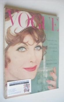 British Vogue magazine - July 1958 (Vintage Issue)