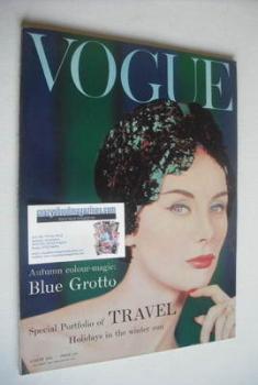 British Vogue magazine - August 1958 (Vintage Issue)