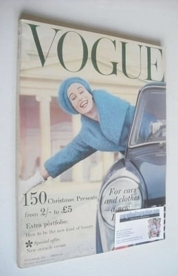 <!--1958-11-->British Vogue magazine - November 1958 (Vintage Issue)