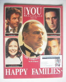 <!--1991-02-03-->You magazine - Happy Families cover (3 February 1991)