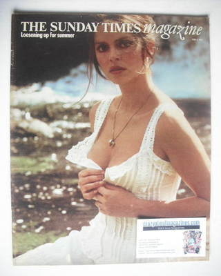 <!--1974-05-05-->The Sunday Times magazine - Barbara Bach cover (5 May 1974