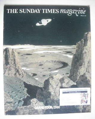 <!--1974-04-21-->The Sunday Times magazine - Grand Tour 1980 cover (21 Apri