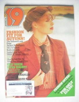 19 magazine - September 1977