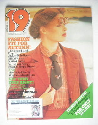 <!--1977-09-->19 magazine - September 1977