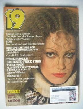 19 magazine - October 1977