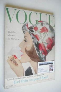 British Vogue magazine - May 1958 (Vintage Issue)