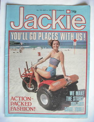 <!--1981-07-04-->Jackie magazine - 4 July 1981 (Issue 913)