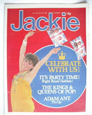 <!--1981-07-25-->Jackie magazine - 25 July 1981 (Issue 916)