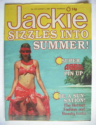 <!--1981-08-01-->Jackie magazine - 1 August 1981 (Issue 917)