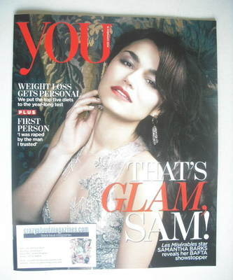 <!--2014-02-16-->The Times magazine - Samantha Barks cover (16 February 201