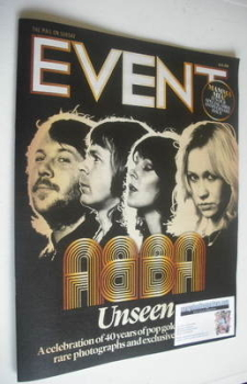 Event magazine - Abba cover (16 February 2014)