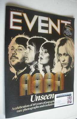 <!--2014-02-16-->Event magazine - Abba cover (16 February 2014)