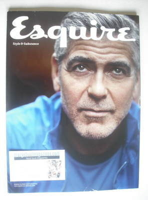 <!--2014-01-->Esquire magazine - George Clooney cover (January 2014 - Subsc