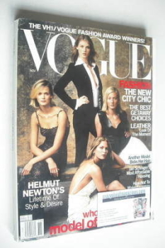 US Vogue magazine - November 2000 - Model Of The Year cover