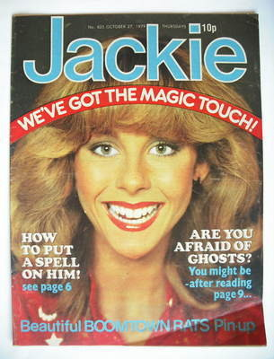 <!--1979-10-27-->Jackie magazine - 27 October 1979 (Issue 825)