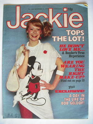 <!--1979-11-03-->Jackie magazine - 3 November 1979 (Issue 826)
