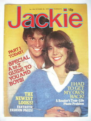 <!--1979-10-20-->Jackie magazine - 20 October 1979 (Issue 824)