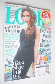 Look magazine - 24 February 2014 - Victoria Beckham cover