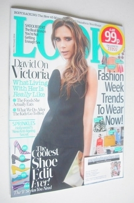 <!--2014-02-24-->Look magazine - 24 February 2014 - Victoria Beckham cover