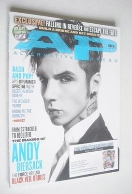 <!--2013-12-->Alternative Press magazine - December 2013 - Andy Biersack co