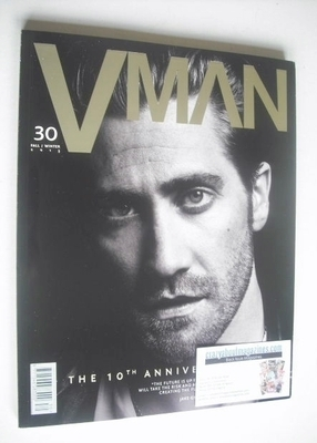 <!--2013-09-->VMAN magazine - Fall/Winter 2013 - Jake Gyllenhaal cover