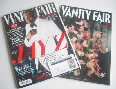 <!--2013-11-->Vanity Fair magazine - Jay Z cover (November 2013)