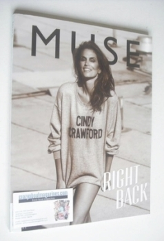 <!--2013-08-->Muse magazine - Summer 2013 - Cindy Crawford cover