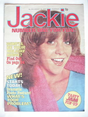 <!--1979-08-18-->Jackie magazine - 18 August 1979 (Issue 815)