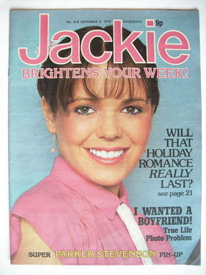 <!--1979-09-08-->Jackie magazine - 8 September 1979 (Issue 818)