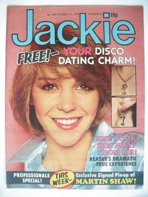 <!--1979-10-13-->Jackie magazine - 13 October 1979 (Issue 823)