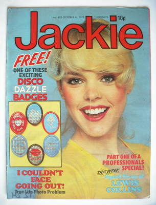 <!--1979-10-06-->Jackie magazine - 6 October 1979 (Issue 822)