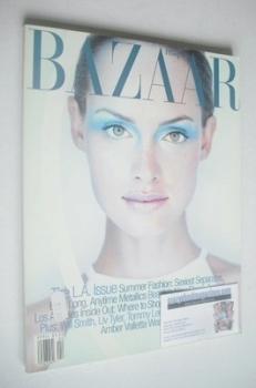 Harper's Bazaar magazine - April 1997 - Amber Valletta cover