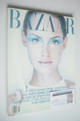 <!--1997-04-->Harper's Bazaar magazine - April 1997 - Amber Valletta cover