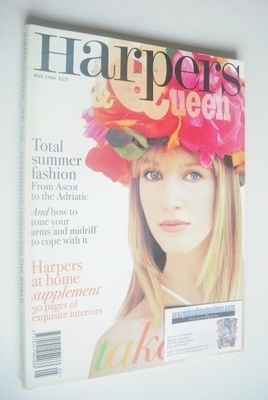 <!--1996-05-->British Harpers & Queen magazine - May 1996 - Cecilia Chancel