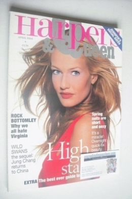 <!--1994-04-->British Harpers & Queen magazine - April 1994 - Karen Mulder