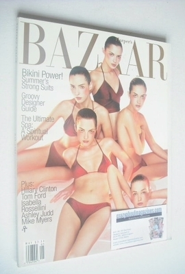<!--1997-05-->Harper's Bazaar magazine - May 1997 - Gucci Girls cover
