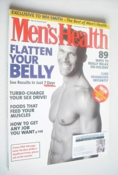 British Men's Health magazine - July/August 1999